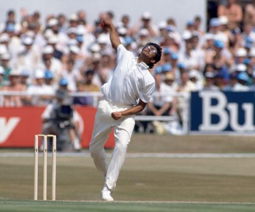 A bespetacled Anil Kumble was picked for the first time for an Indian Test tour in 1990