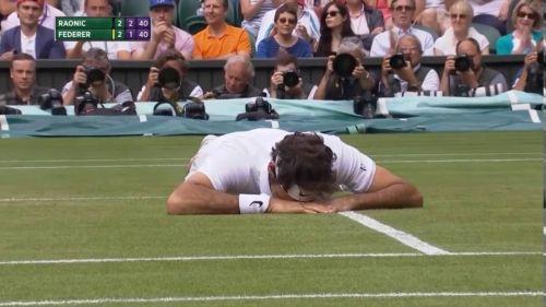 Federer at Wimbledon 2016