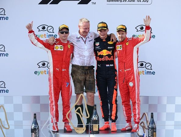 Image result for Lewis Hamilton retires from Austrian GP as Max Verstappen wins