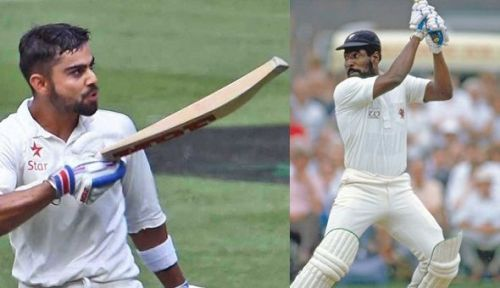 Virat Kohli & Viv Richards