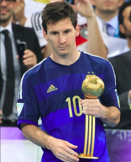 2018 World Cup Golden Ball winner