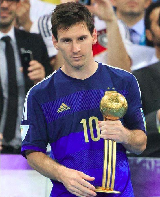 2018 World Cup Golden Ball winner