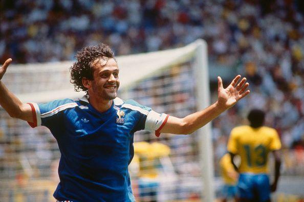 French Soccer Legend Michel Platini