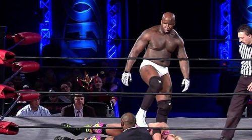 Moose of Impact Wrestling.