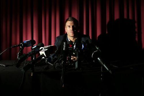 David Warner Press Conference