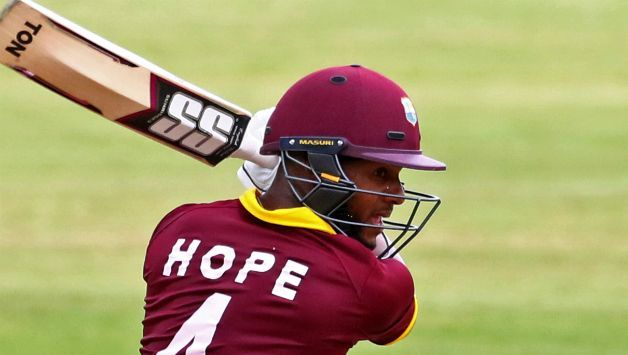 Shai Hope announced himself with a century in international arena at Lord