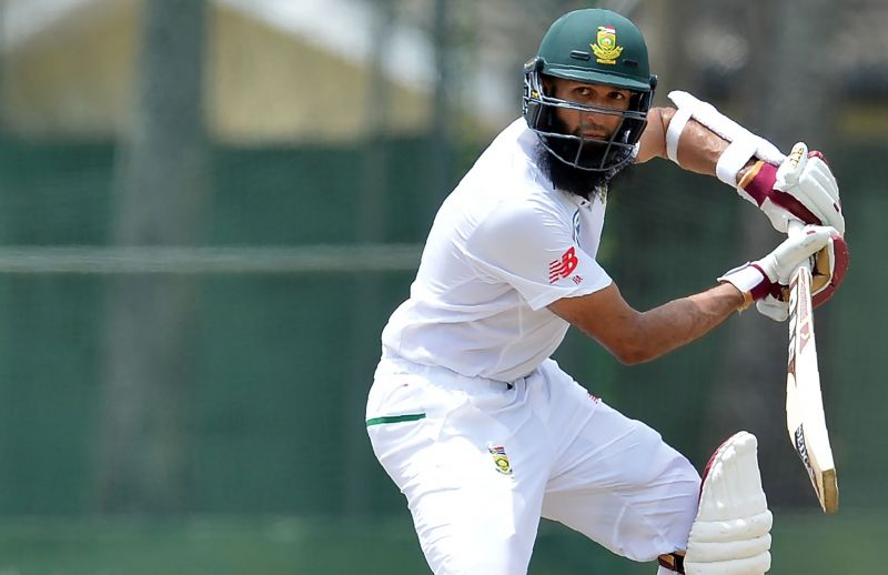 Amla became the third South African player to score 9000 runs in Test matches
