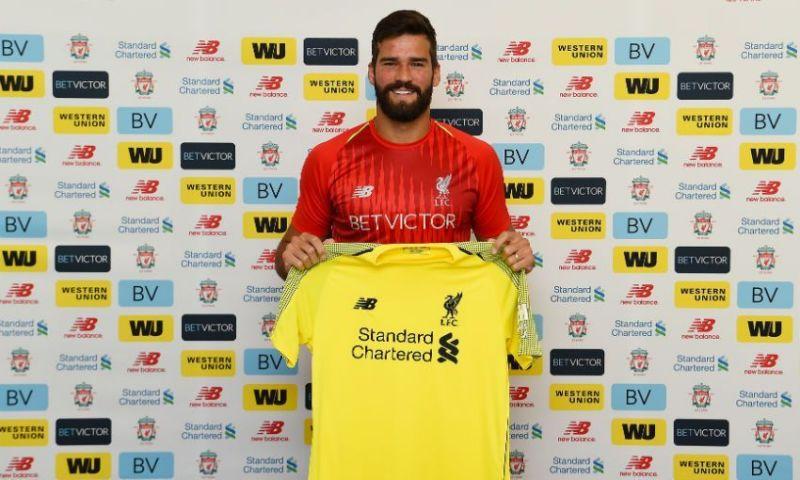 Liverpool sign Alisson Becker