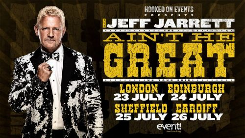Jeff Jarrett prepares to reveal all later this month
