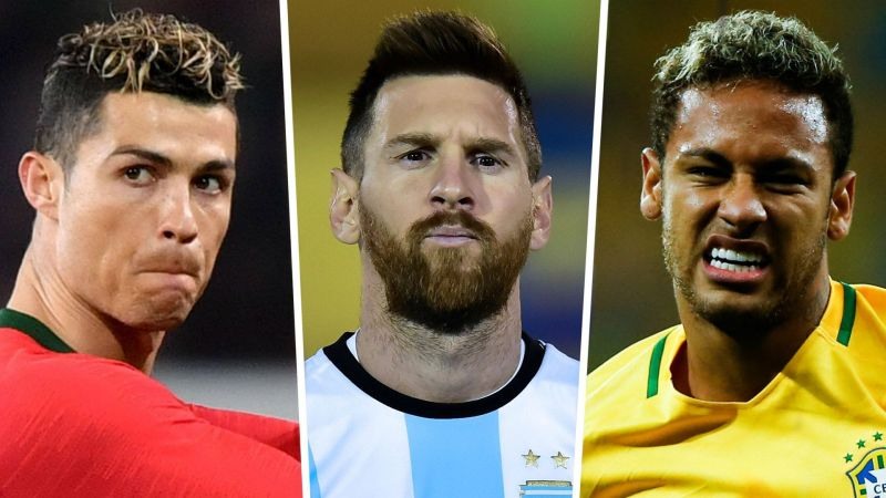 Ronaldo, Messi and Neymar failed to impress at the FIFA World Cup 2018