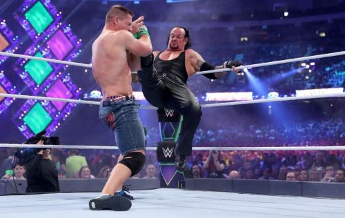 John Cena and The Undertaker could do battle at WWE SummerSlam, after having tangled at WrestleMania 34 earlier this year
