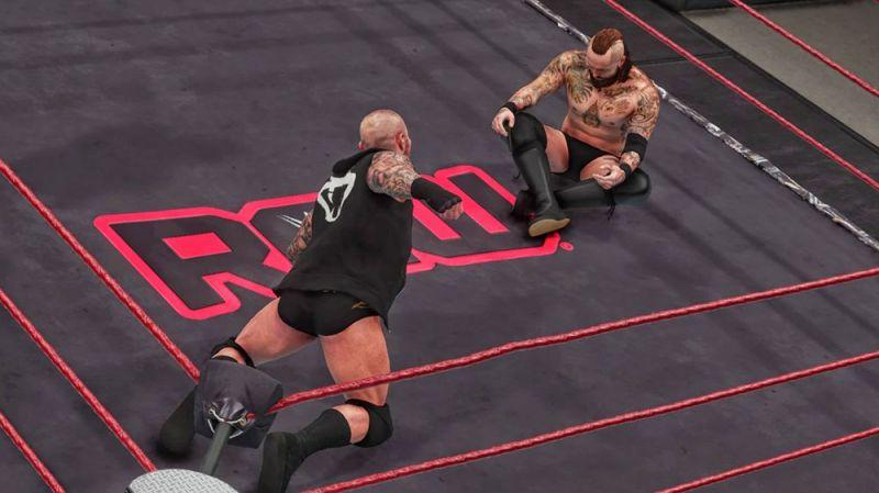 Aleister Black vs. Randy Orton