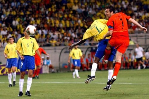 Soccer - FIFA World Cup 2002 - Second Round - Brazil v Belgium