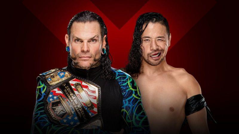 Jeff Hardy faced Shinsuke Nakamura for the United States Championship