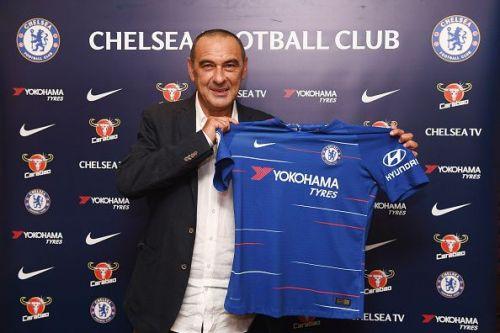 Chelsea Unveil New Head Coach Maurizio Sarri...