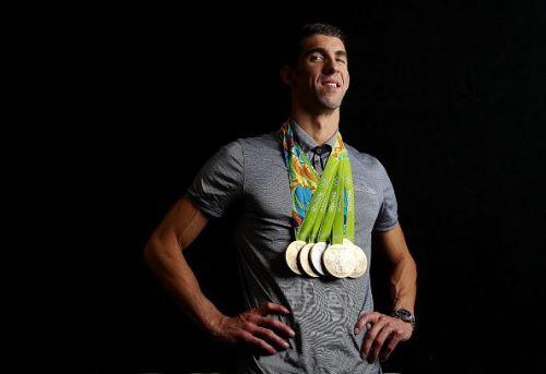 USA Michael Phelps, Swimming