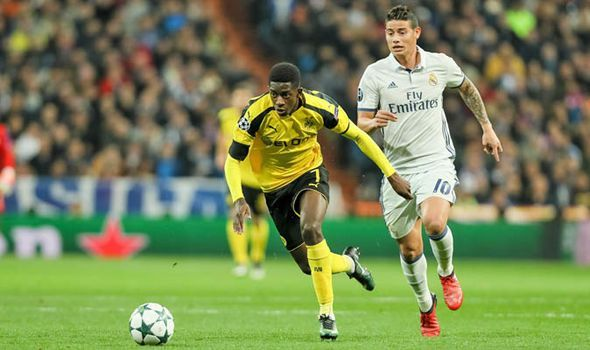 95af64a9011 Dembele caused a training ground bust-up to force a move to Catalonia