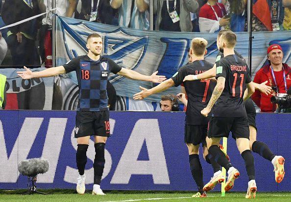 Football: Argentina vs Croatia at World Cup