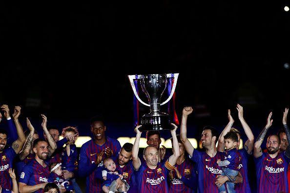 2018 La Liga Football FC Barcelona v Real Sociedad May 20th