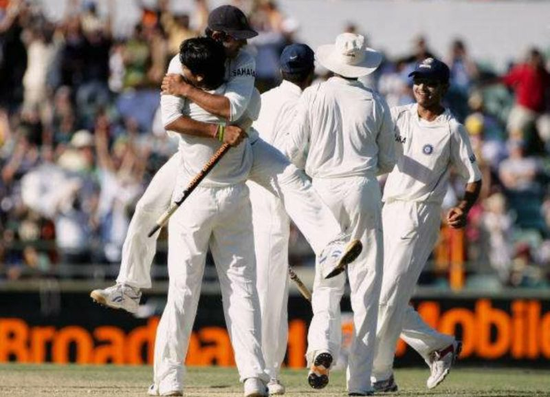 India is the only team to beat Australia in Australia twice between 1999-2008