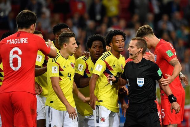 Colombia played ugly... really ugly!