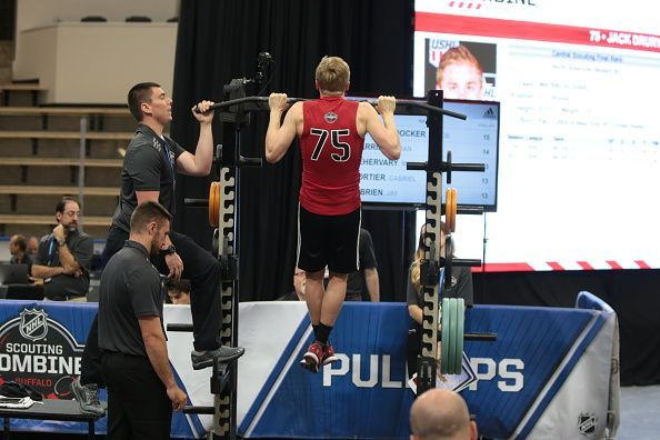 NHL: JUN 02 Scouting Combine