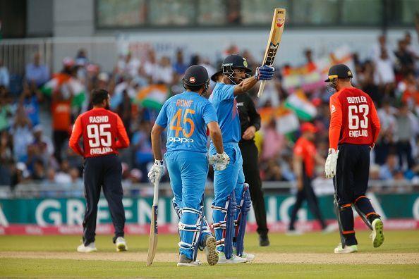 2018 International Twenty20 Cricket England v India Jul 3rd