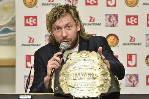 Kenny Omega will face-off against Tama Tonga in two weeks time
