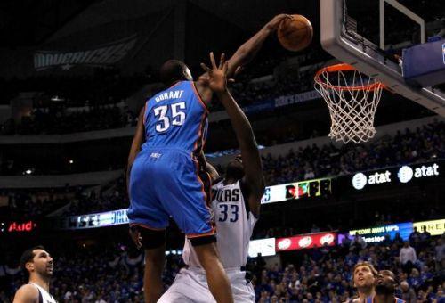 Oklahoma City Thunder v Dallas Mavericks - Game Two