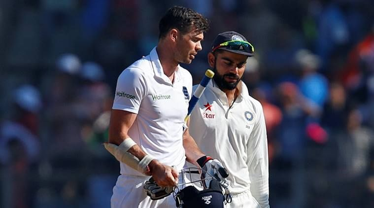Kohli vs Anderson is going to be a good battle