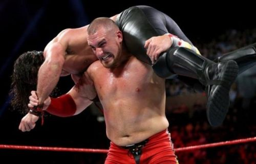 WWE RAW Superstar Mojo Rawley is presently dealing with a leg injury