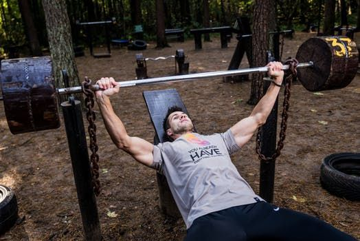 Your chest plays an important role in your upper body strength.