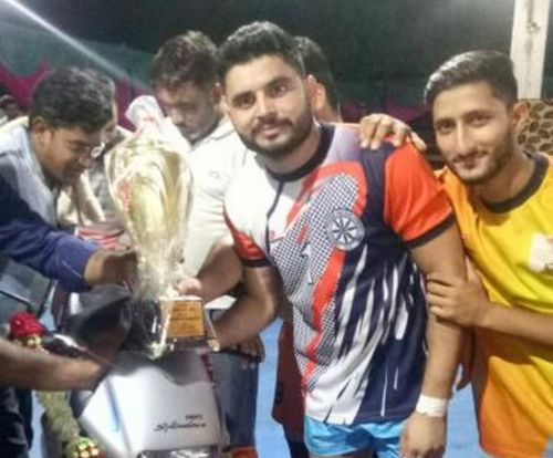 Baldev has represented Himachal Pradesh in the senior nationals and played with Ajay Thakur as well.