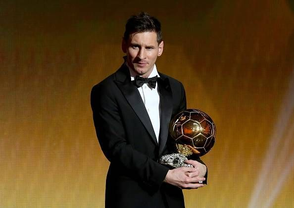 Image result for lionel messi ballon d'or