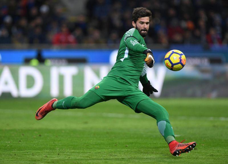 Alisson was the best goalkeeper in Serie A last season