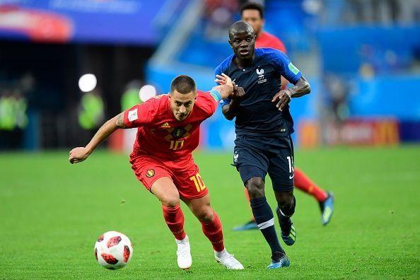 France v Belgium - Semi-Final : FIFA World Cup 2018