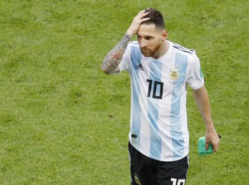Football: France vs Argentina at World Cup