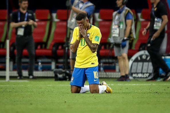 Neymar da Silva Santos Jr.  of Brasil  during the match...