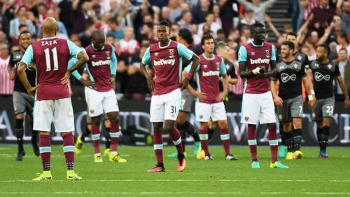 Enter captionWest Ham have had a disappointing start to the Premier League season