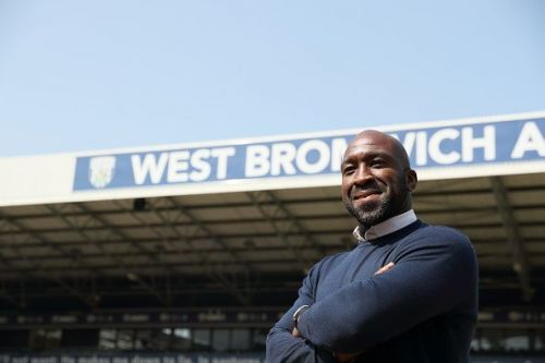 Darren Moore Press Conference at West Bromwich Albion