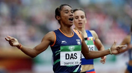 Asian Games 2018 : Hima Das to try her luck in Women's 400 m. event on Day 1 of athletics