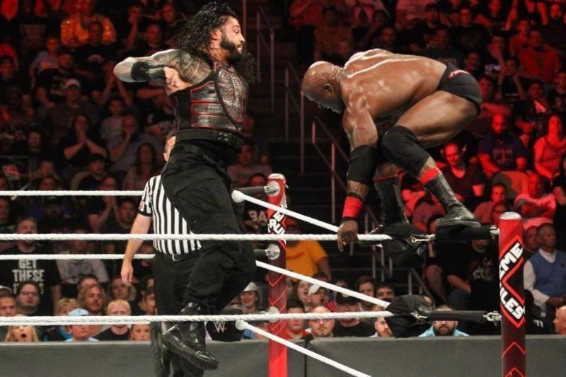 Roman Reigns vs. Bobby Lashley.