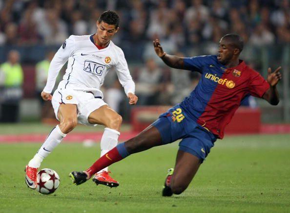 UEFA Champions League Final Barcelona v Manchester United