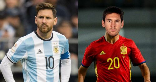 Lionel Messi was eligible to play for Spain