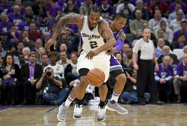 San Antonio Spurs v Sacramento Kings