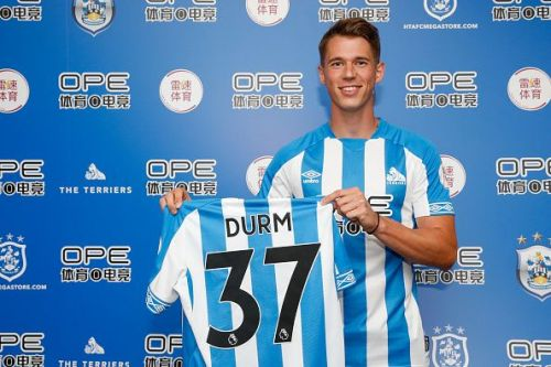 Huddersfield Town Unveil New Signing