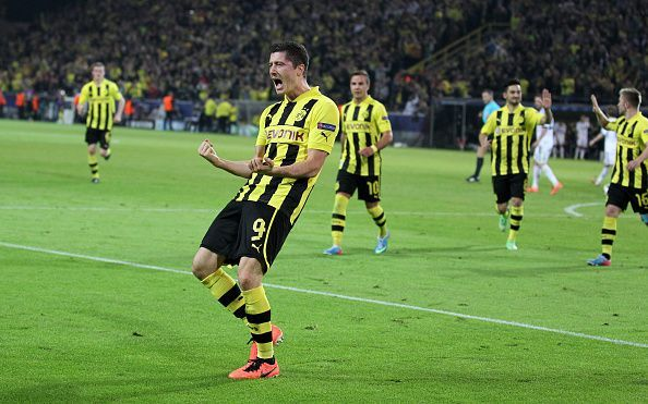 Soccer - UEFA Champions League Semifinal - Borussia Dortmund vs. Real Madrid