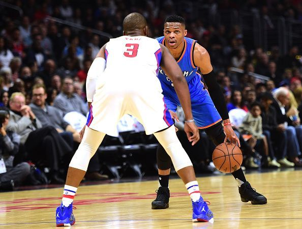 Oklahoma City Thunder v Los Angeles Clippers