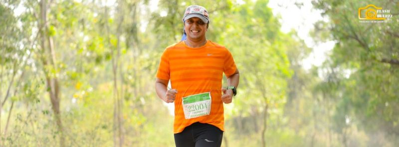220 Kms run at Hennur Bamboo Forest
