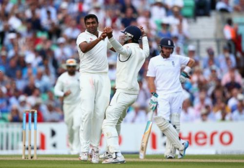 Ashwin was part of the squad that toured England in 2014